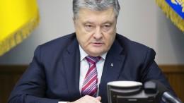 Poroschenko warnt Russland vor Einmischung