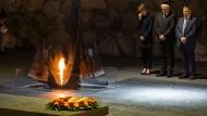 Gedenken an die Opfer der Verbrechen Nazi-Deutschlands: Steinmeier in Yad Vashem.