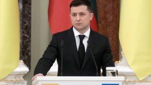 Präsident Selenskyj kassiert Ernennung von Richtern