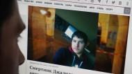 """Der mutmaßliche Attentäter Akbarschon Dschalilow soll aus Kirgistan kommen – das zentralasiatische Land behauptet aber, er sei """"ethnischer Usbeke""""."""