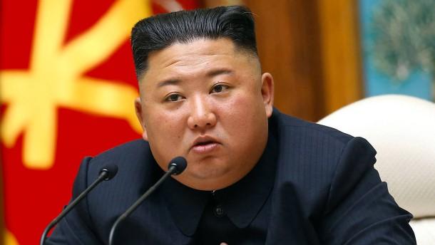 """Südkorea sieht Kim Jong-un """"wohlauf"""""""