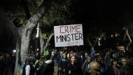 Mit Anderem beschäftigt: Israelische Demonstranten in Tel Aviv