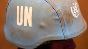 Zwei Blauhelmsoldaten sterben bei Angriff auf UN