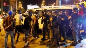 Äthiopische Juden protestieren gegen Polizeigewalt