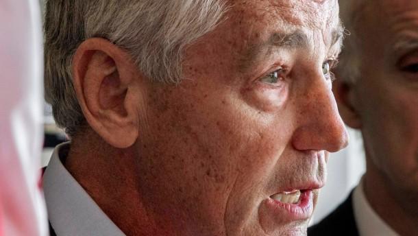 Republikaner Hagel soll offenbar das Pentagon leiten