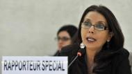 Erschütterndes Fazit nach sechs Jahren im Amt: die UN-Sonderberichterstatterin über Kinderhandel, Kinderprostitution und Kinderpornographie, Najat Maalla M'jid