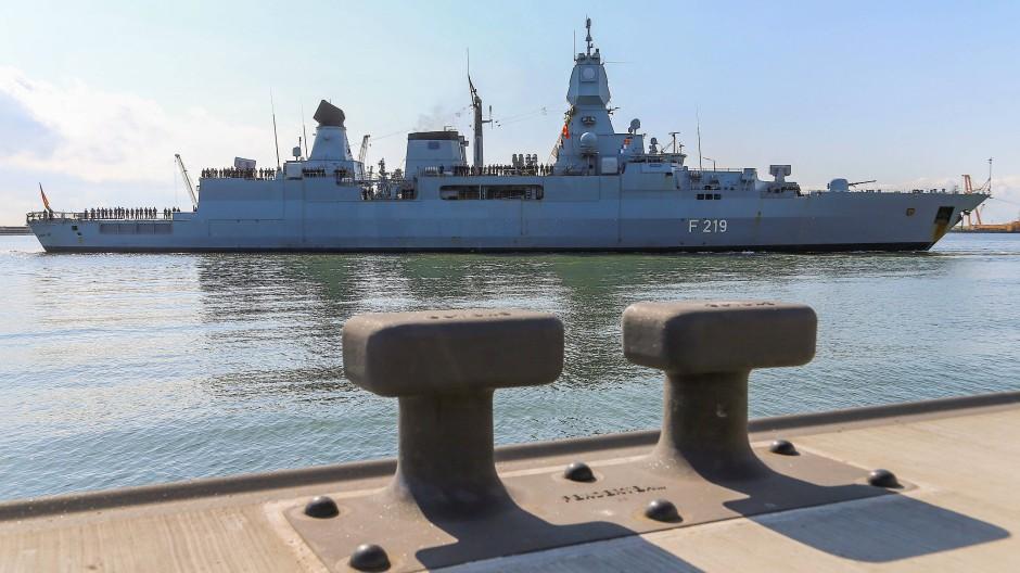 War bei Sophia: Die Fregatte Sachsen