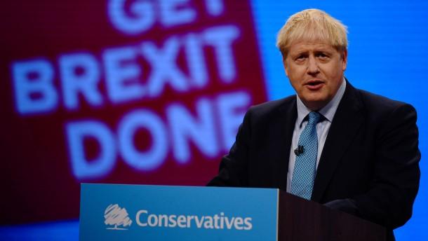 """Johnson: """"Keine Kontrollen an irischer Grenze"""""""