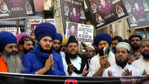 Indiens Regierung will Todesstrafe für Vergewaltigung von Kindern