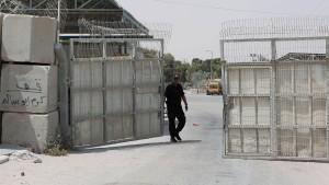 Grenzübergänge zwischen Israel und Gaza wieder offen