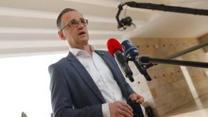 "Maas droht mit ""Sanktionsspirale"" gegen Belarus"