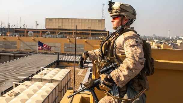 """""""Haltet Eure Konflikte vom Irak fern"""""""