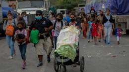 Amerika, Mexiko und Guatemala vereinbaren Grenzschließung