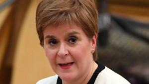 Schottlands Regierungschefin will Termin für Unabhängigkeitsreferendum vorlegen