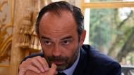 """""""Wir halten uns an unsere Ankündigungen"""": Édouard Philippe"""