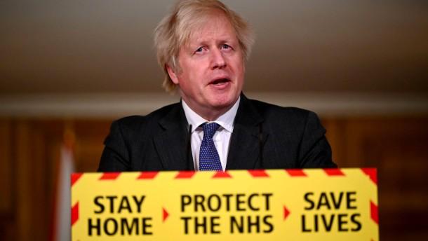 Britische Fachleute verwundert über Johnsons Aussage