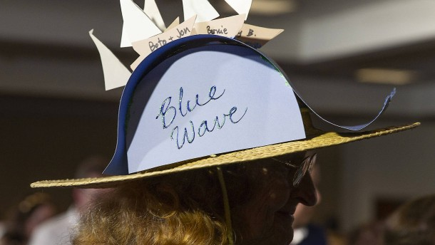 """Demokraten sehen doch noch """"Blaue Welle"""""""
