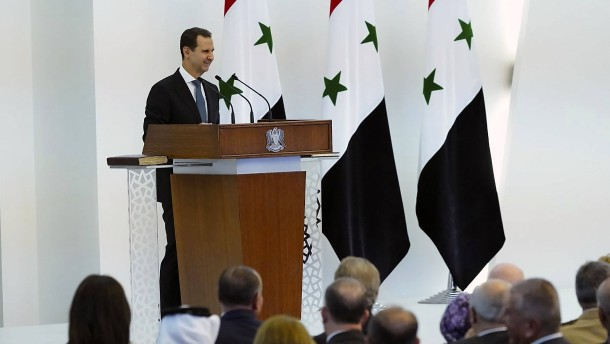 Syriens Machthaber Assad tritt vierte Amtszeit an