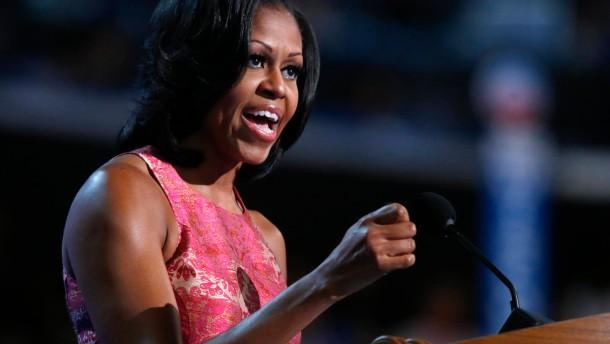 Michelle Obama lässt Demokraten jubeln