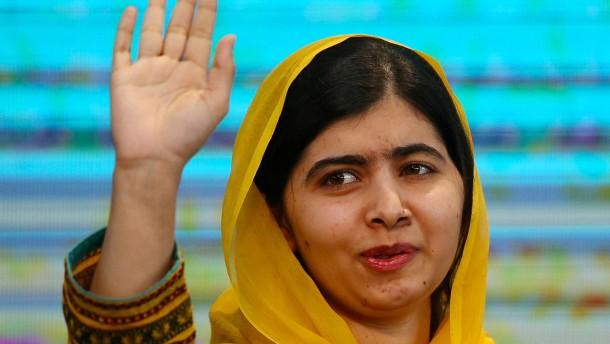 Nobelpreisträgerin nach Anschlag erstmals wieder in Pakistan