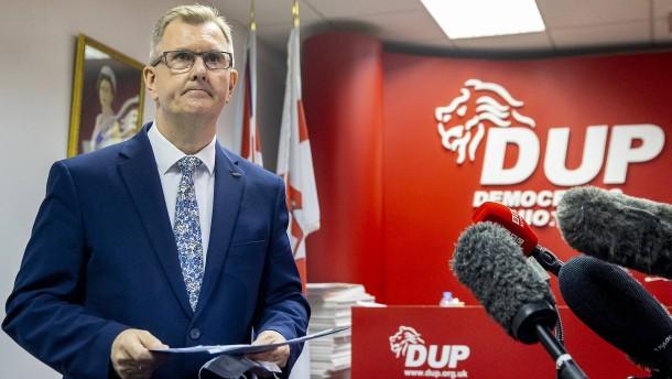 Nordirische Unionisten ernennen neuen Parteivorsitzenden