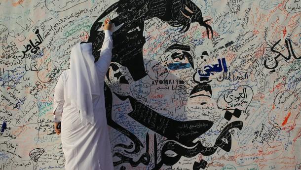 Ein Land steht hinter seinem Emir