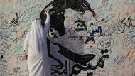 Der arabische Che Guevara: Das Abbild des Emirs Tamim bin Hamad Al Thani.