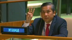 Die mutige Geste des UN-Botschafters