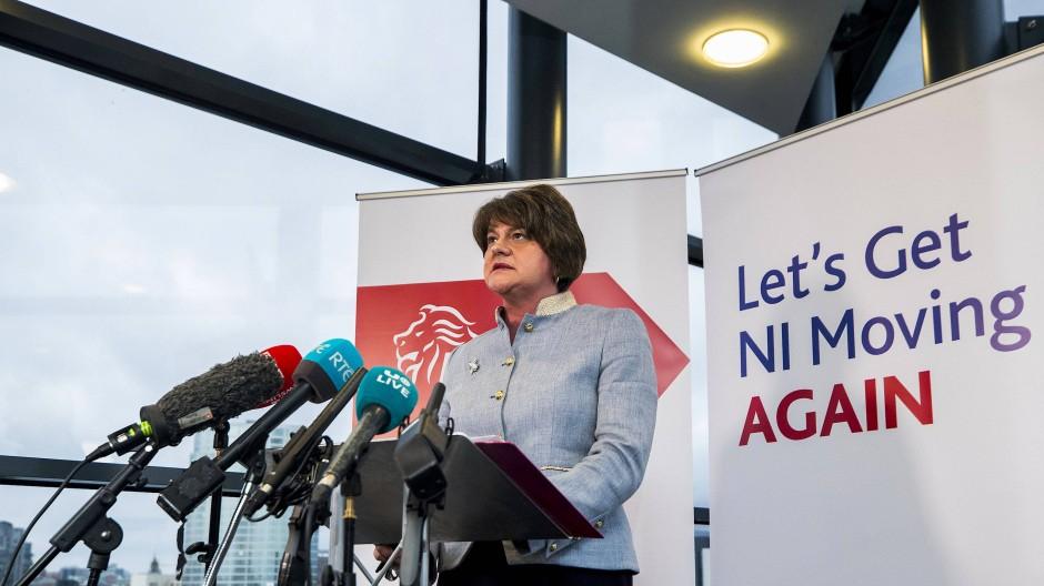 Nordirlands neue Regierungschefin: Arlene Foster im November in Belfast
