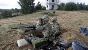 Nato-Übung mit 1000 Soldaten in Lettland