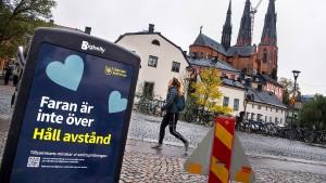 Keine Feste mehr in Uppsala