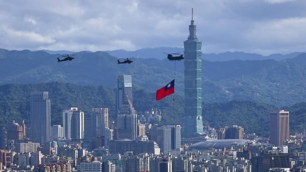Deutschland muss Peking in Taiwan die Stirn bieten