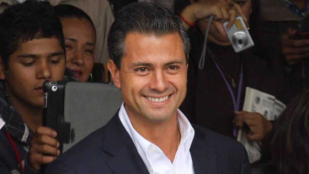 Künftiger Präsident Peña Nieto setzt auf Polizei