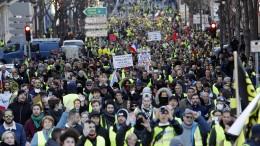 """""""Gelbwesten"""" wollen an Europawahlen teilnehmen"""