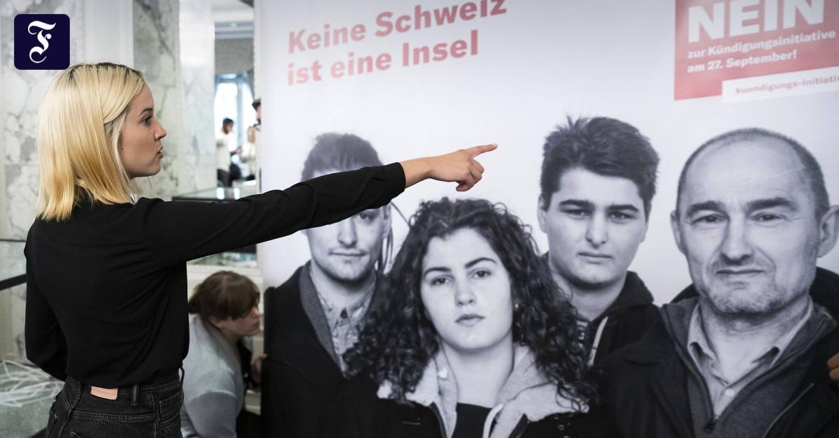 Schweizer lehnen Begrenzungsinitiative klar ab