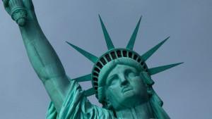 Lady Liberty empfängt wieder