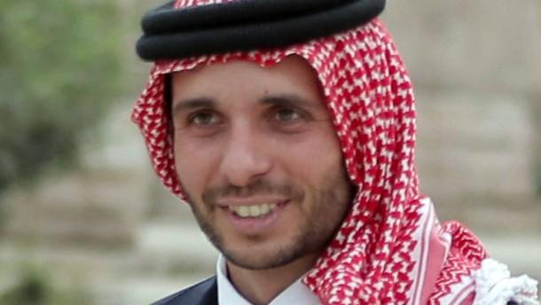Jordaniens Prinz Hamza angeblich unter Hausarrest