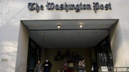 """""""Washington Post"""" deckt Täuschungsversuch auf"""