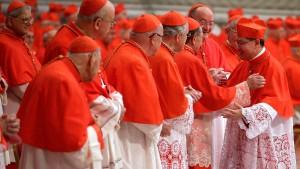 Papst ernennt sechs Kardinäle