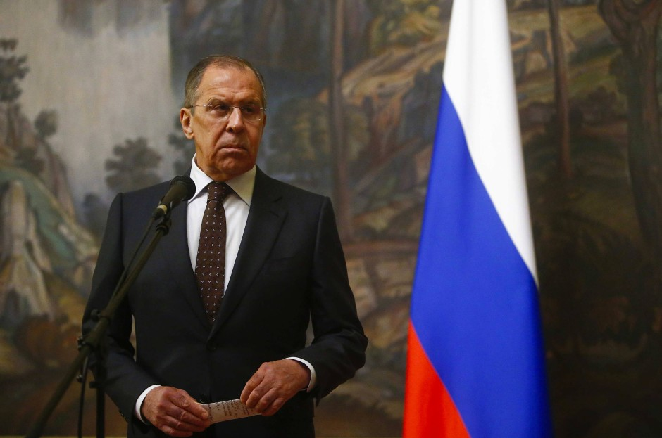Unter Verdacht: Russlands Außenminister Sergej Lawrow.