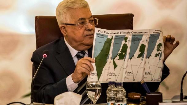 Palästinenser wollen Beziehungen abbrechen