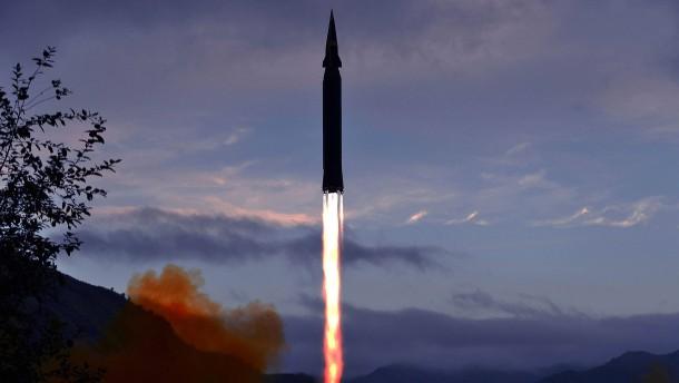 Nordkorea testet erstmals Hyperschallrakete