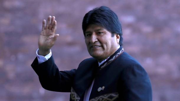 Morales' Kandidatur für vierte Amtszeit genehmigt