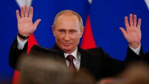 Putin gegen den Rest der Welt