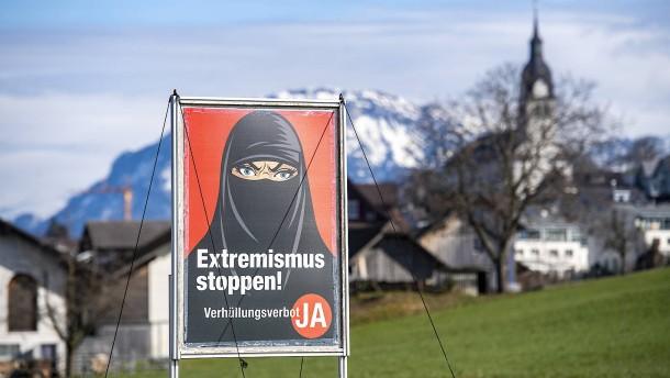 Die Burka wird in der Schweiz verboten