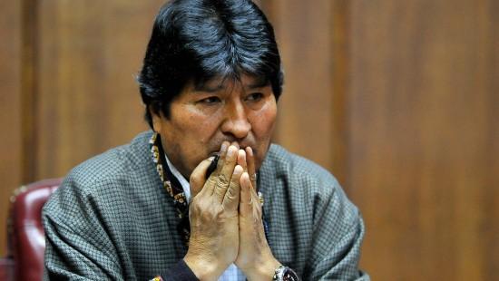 Haftbefehl gegen Evo Morales erlassen