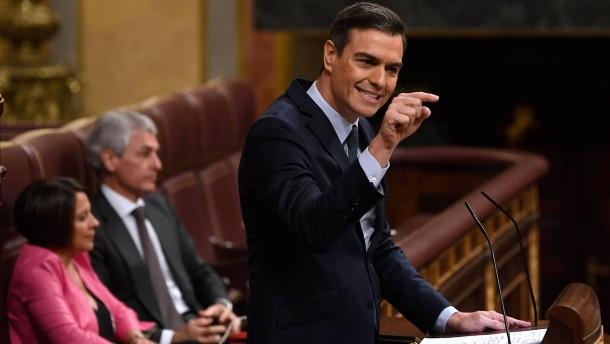 Sánchez im ersten Wahlgang gescheitert