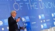 Europa nicht aufgeben: EU-Kommissionspräsident Juncker in Florenz.
