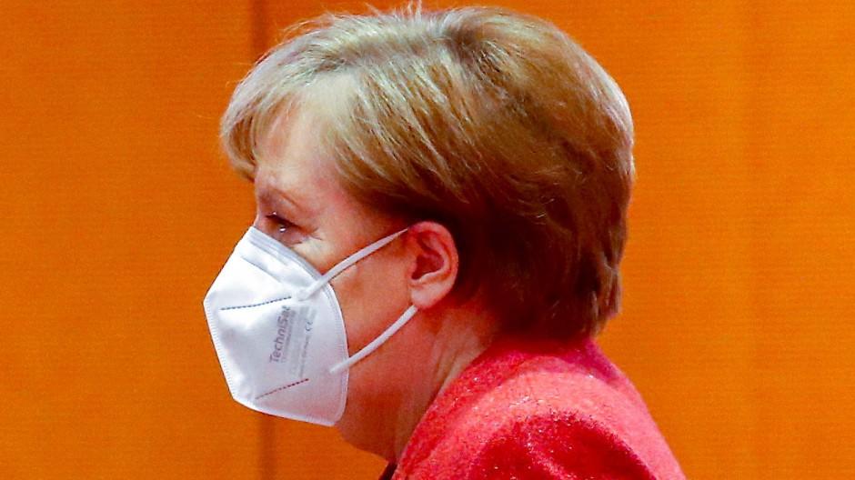 Bundeskanzlerin Angela Merkel (CDU) am 20. Januar in Berlin