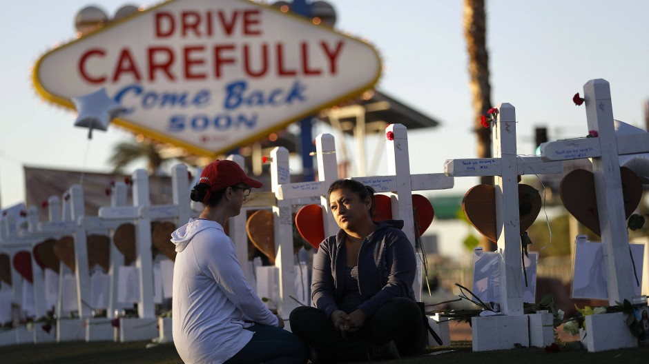 Die Attacke von Las Vegas erschütterte viele Amerikaner. Doch an den Waffengesetzen und der Definition für Terror lässt sie die wenigsten zweifeln.